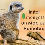 install-mongo-db-on-mac